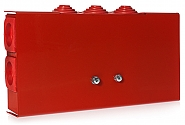 Puszka instalacyjna PIP-2AN przelotowa 9x4 - 1