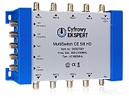Multiswitch 5/8 CE HD