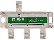 Rozgałęźnik CATV 1x3 DSE TSP1-3 - 1