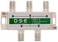 Rozgałęźnik CATV 1x4 DSE TSP1-4 - 1