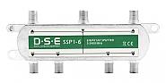 Rozgałęźnik SAT 1x6 DSE SSP1-6 - 1