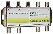 Sumator RTV/SAT 5x4 DQTC-104 - 1