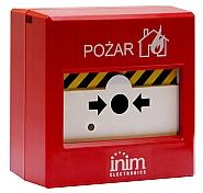 Resetowalny ręczny ostrzegacz pożarowy EC0020