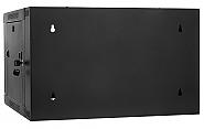 Szafa Rack 19'' 6U 600mm wisząca dwusekcyjna D6606 - 3