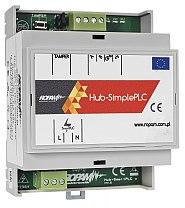 Koncentrator systemowy sieci Hub-SimplePLC-D4M