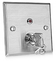 Metalowy przełącznik kluczowy KS-1N - 1