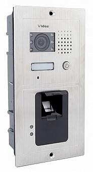 S601Z-2 - Jednoabonentowa stacja bramowa z kamerą i czytnikiem linii