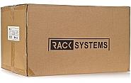 Szafa Rack 19'' 6U 400mm wisząca typu sejf W5406DZ - 5