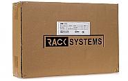Szafa Rack 19'' 2U 120mm wisząca typu rozdzielnica W5302W - 5