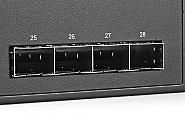 24-portowy switch z portami gigabitowymi