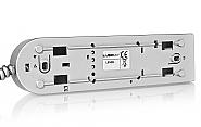Słuchawka srebrna systemu Laskomex LM 8 W 6