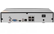Sieciowy rejestrator ze switchem PoE - PX-NVR0451H-P4
