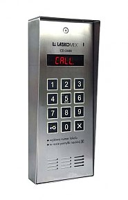 CD2600R - Cyfrowy panel domofonowy
