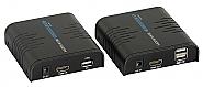 Extender HDMI na IP z przedłużaczem USB (TX+RX) - 1