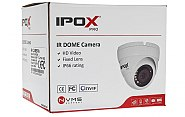 Biała kamera dome IPOX PX DI2028