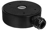 Czarna puszka przyłączeniowa do kamer Hikvision DS-1280ZJ-DM21 BLACK