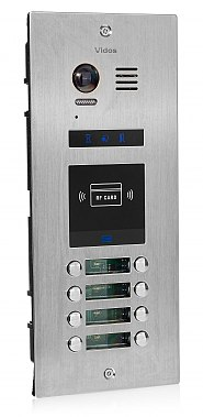 S1508A - Wieloabonentowa stacja bramowa z czytnikiem RFID