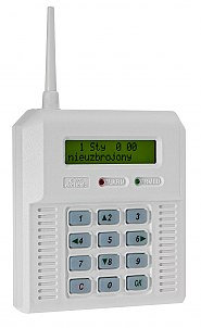 Wireless alarm control unit Elmes CB 32B Blue