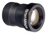 Obiektyw megapikselowy MINI 8 mm  2Mpx