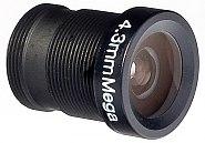 Obiektyw megapikselowy MINI 4.3 mm