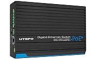 Switch 4x RJ45 1000Mbps + 2x SFP 1000Mbps UTP7304GE POE