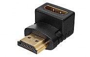 Złącze kątowe HDMI - gniazdo HDMI
