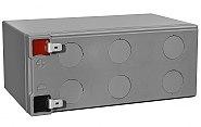 Akumulator CSB 9Ah/12V HRL1234W - kadr z góry