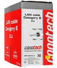 Kabel LAN U/UTP kat.6 Conotech