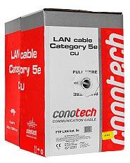 Kabel LAN F/UTP kat.5e Conotech