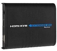 Dodatkowy odbiornik extendera HDMI na IP z przedłużaczem USB (RX)