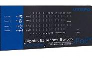 Wskaźniki pracy w switchu IPOX UTP-7524GE-POE-K