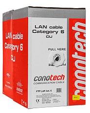 Kabel LAN F/UTP kat.6 Conotech