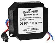 Zasilacz stabilizowany impulsowy ZS1A12WP 1.5A/12V