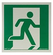 Znak AAE002 wyjście ewakuacyjne prawostronne
