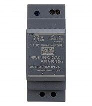 HDR 15V/30W/2A zasilacz na szynę DIN