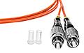 Patchcord optyczny wielomodowy SC-FC 50/125 1m duplex - 4