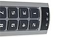 Wielofunkcyjna klawiatura z czytnikiem INT-SCR-BL - 5