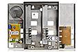 Panel domofonowy z 4 przyciskami MIWUS 5025/4D - 3