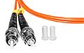 Patchcord optyczny wielomodowy FC-ST 50/125 2m duplex - 3