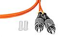 Patchcord optyczny wielomodowy FC-ST 50/125 2m duplex - 4