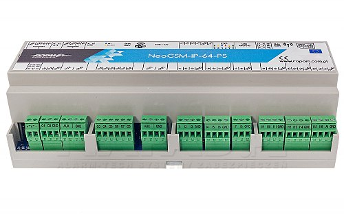 Centrala alarmowa NeoGSM-IP-64-PS-D12M