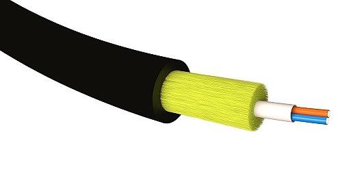 Kabel optyczny SM 1J / 2J G657A2 microADSS TPU śr. 3mm