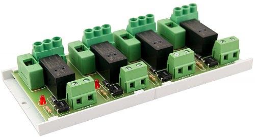 Moduł przekaźnikowy PULSAR PU4/HV AWZ626