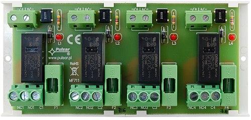 4x REL-C/NO/NC, 6A@30VDC/250VAC - Pulsar AWZ 626