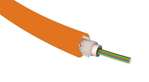 Kabel światłowodowy SM 2J / 4J / 8J / 12J G657A1 DAC PE