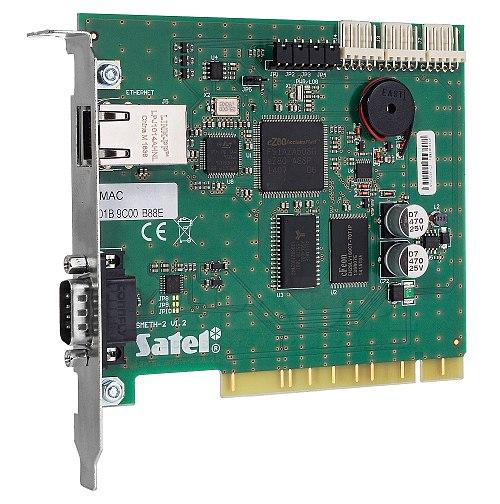 Karta podstawowa odbiornika monitoringu TCP/IP STAM-1 PE