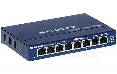 Switch 8-portowy GS108GE