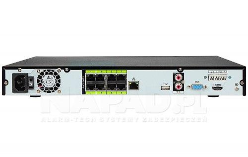 Rejestrator AI IP Dahua NVR4208 8P I