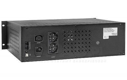 Uninterruptible Power Supply UPS 2000 R LI LCD RACK