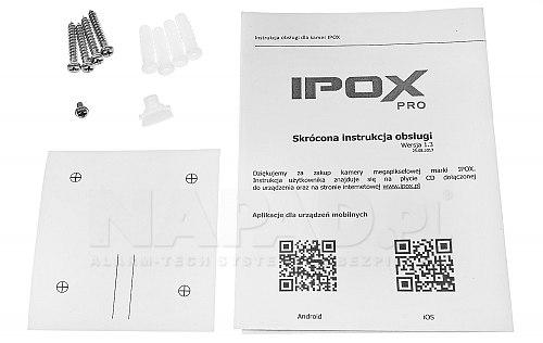 Kamera tubowa z oświetlaczem Black Glass - PX-TIP2028IR3SL